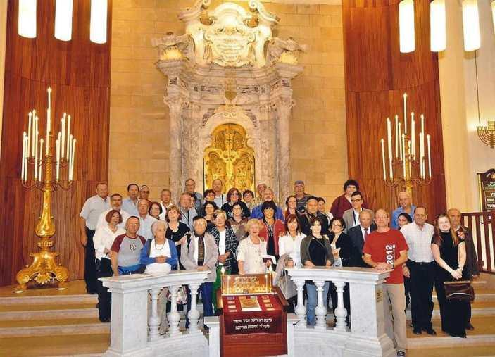 מסע ארון הקודש מאיטליה לקרית שמואל