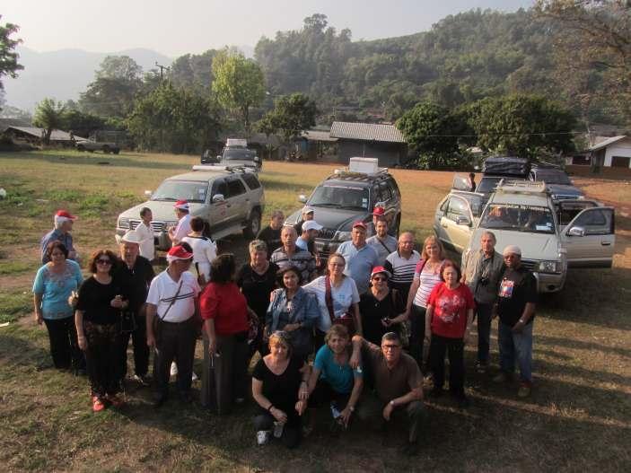 טיול ג'יפים מאורגן בתאילנד