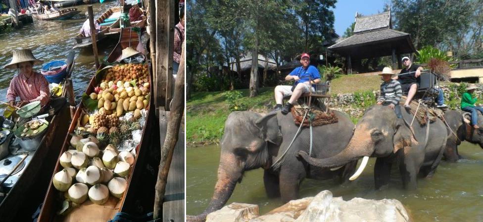 טיולים מאורגנים לתאילנד