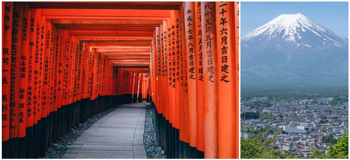 טיול לציבור שומר מסורת ליפן